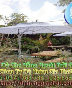 Bán Ô Dù Che Nắng Mưa Quán Cafe Sân Vườn, Mua Dù Cafe, Dù Lệch Tâm Tròn Vuông, Dù Đứng Tâm Giá Rẻ Tại Quân Phú Nhuận