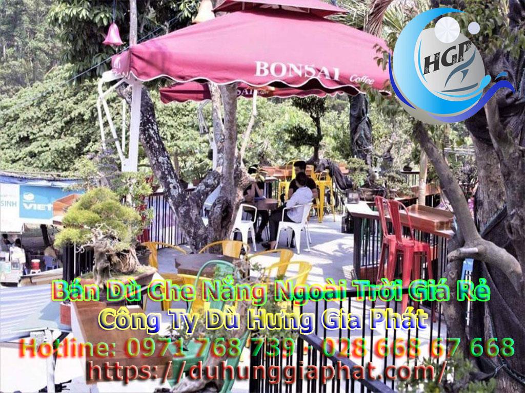 Địa Chỉ Bán Dù Che Nắng Ngoài Trời, Dù Lệch Tâm, Dù Đứng Tâm Quán Cafe Giá Rẻ Tại Đắk Lắk