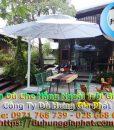 Bán Ô Dù Che Nắng Mưa Quán Cafe Sân Vườn, Mua Dù Cafe, Dù Lệch Tâm Tròn Vuông, Dù Đứng Tâm Giá Rẻ Tại Quân 10