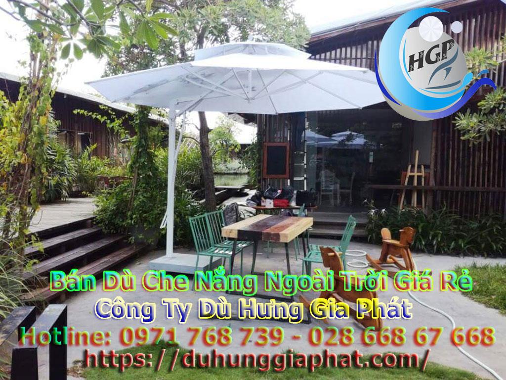 Địa Chỉ Bán Dù Che Nắng Ngoài Trời, Dù Lệch Tâm, Dù Đứng Tâm Quán Cafe Giá Rẻ Tại Bảo Lộc