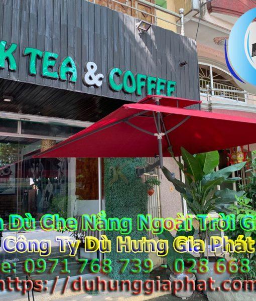 Bán Ô Dù Che Nắng Mưa Quán Cafe Sân Vườn, Mua Dù Cafe, Dù Lệch Tâm Tròn Vuông, Dù Đứng Tâm Giá Rẻ Tại Quân 6