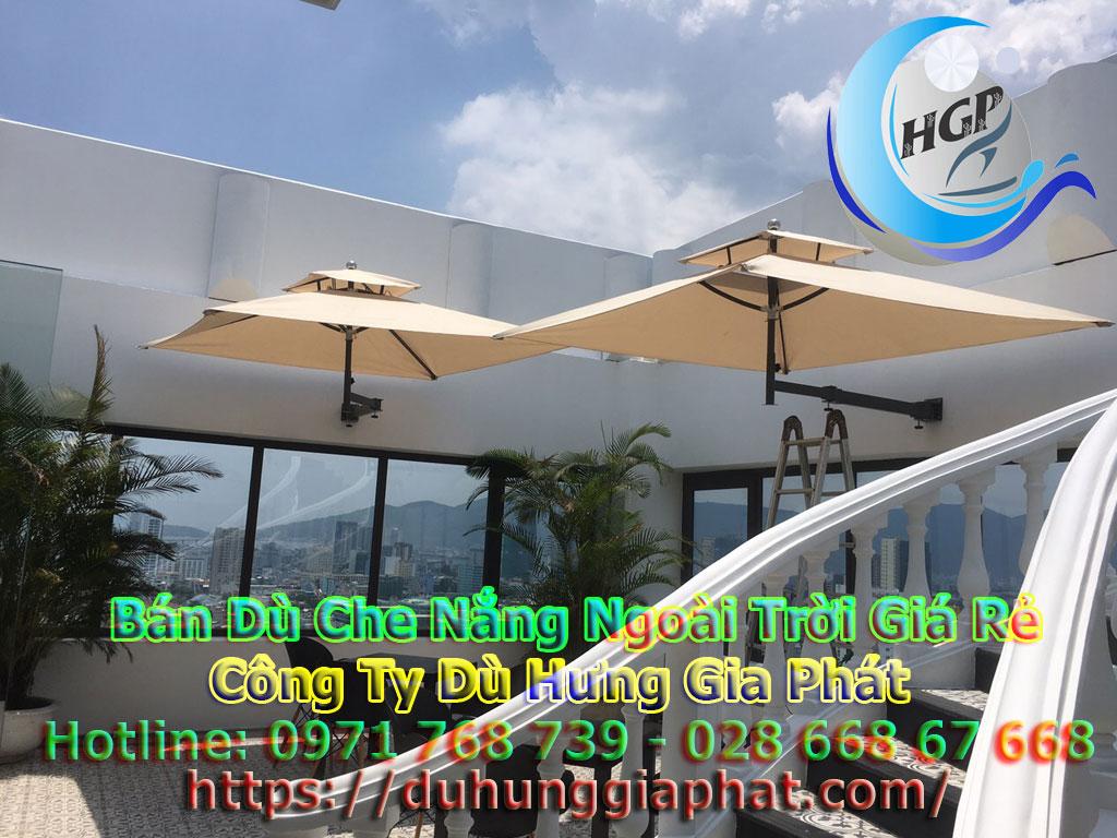 Địa Chỉ Bán Dù Che Nắng Ngoài Trời, Dù Lệch Tâm, Dù Đứng Tâm Quán Cafe Giá Rẻ Tại Bình Định