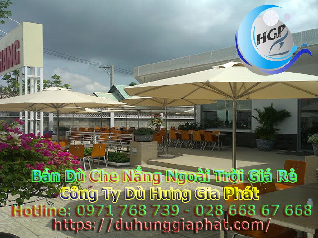 Địa Chỉ Bán Dù Che Nắng Ngoài Trời, Dù Lệch Tâm, Dù Đứng Tâm Quán Cafe Giá Rẻ Tại Phú Yên
