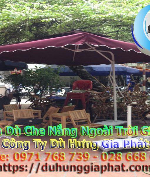 Bán Ô Dù Che Nắng Mưa Quán Cafe Sân Vườn, Mua Dù Cafe, Dù Lệch Tâm Tròn Vuông, Dù Đứng Tâm Giá Rẻ Tại Huyện Bình Chánh