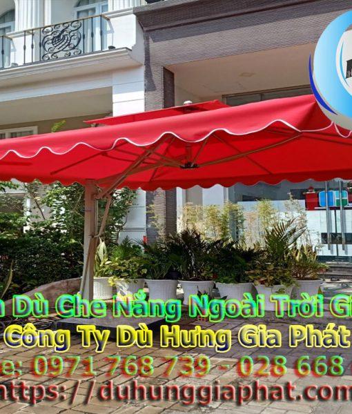 Bán Ô Dù Che Nắng Mưa Quán Cafe Sân Vườn, Mua Dù Cafe, Dù Lệch Tâm Tròn Vuông, Dù Đứng Tâm Giá Rẻ Tại Quân Bình Thạnh