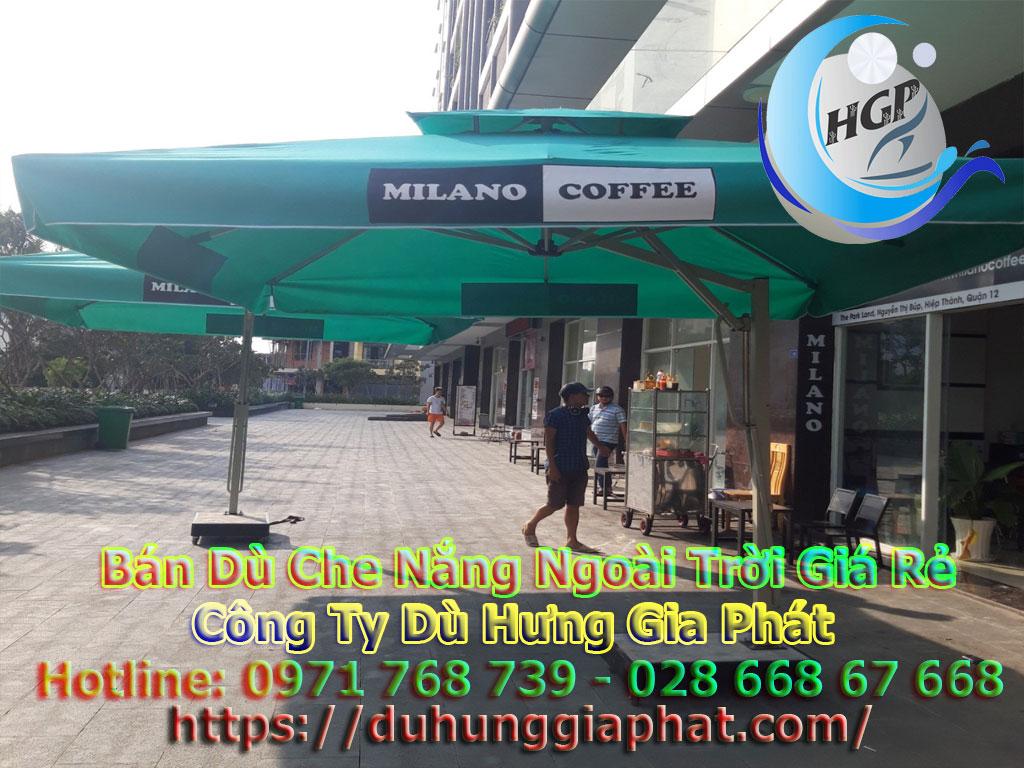 Địa Chỉ Bán Dù Che Nắng Ngoài Trời, Dù Lệch Tâm, Dù Đứng Tâm Quán Cafe Giá Rẻ Tại Khánh Hòa