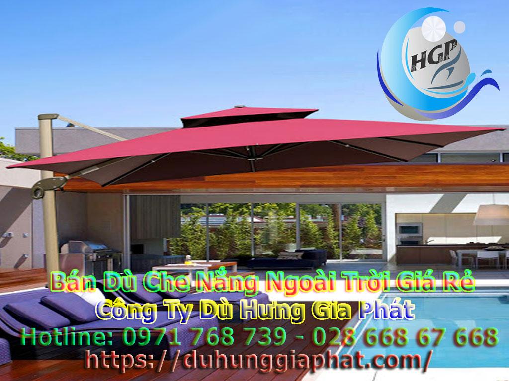 Địa Chỉ Bán Dù Che Nắng Ngoài Trời, Dù Lệch Tâm, Dù Đứng Tâm Quán Cafe Giá Rẻ Tại Nha Trang