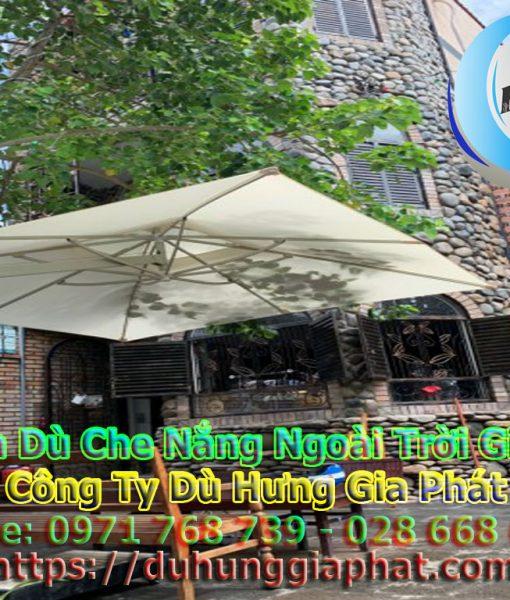 Bán Ô Dù Che Nắng Mưa Quán Cafe Sân Vườn, Mua Dù Cafe, Dù Lệch Tâm Tròn Vuông, Dù Đứng Tâm Giá Rẻ Tại Quân 9