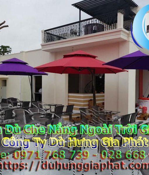 Giá Ô Dù Che Nắng Quán Cafe I Dù Hưng Gia Phát