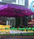 Bán Ô Dù Che Nắng Mưa Quán Cafe Sân Vườn, Mua Dù Cafe, Dù Lệch Tâm Tròn Vuông, Dù Đứng Tâm Giá Rẻ Tại Huyện Nhà Bè