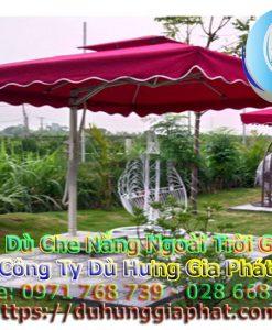 Ô Dù Che Nắng Sân Vườn I Dù Lệch Tâm Gía Rẻ