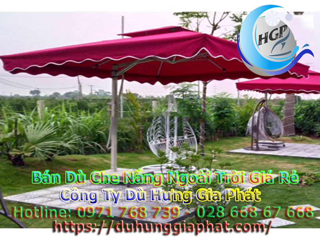 Ô Dù Che Nắng Quán Cafe Quận 2 TPHCM