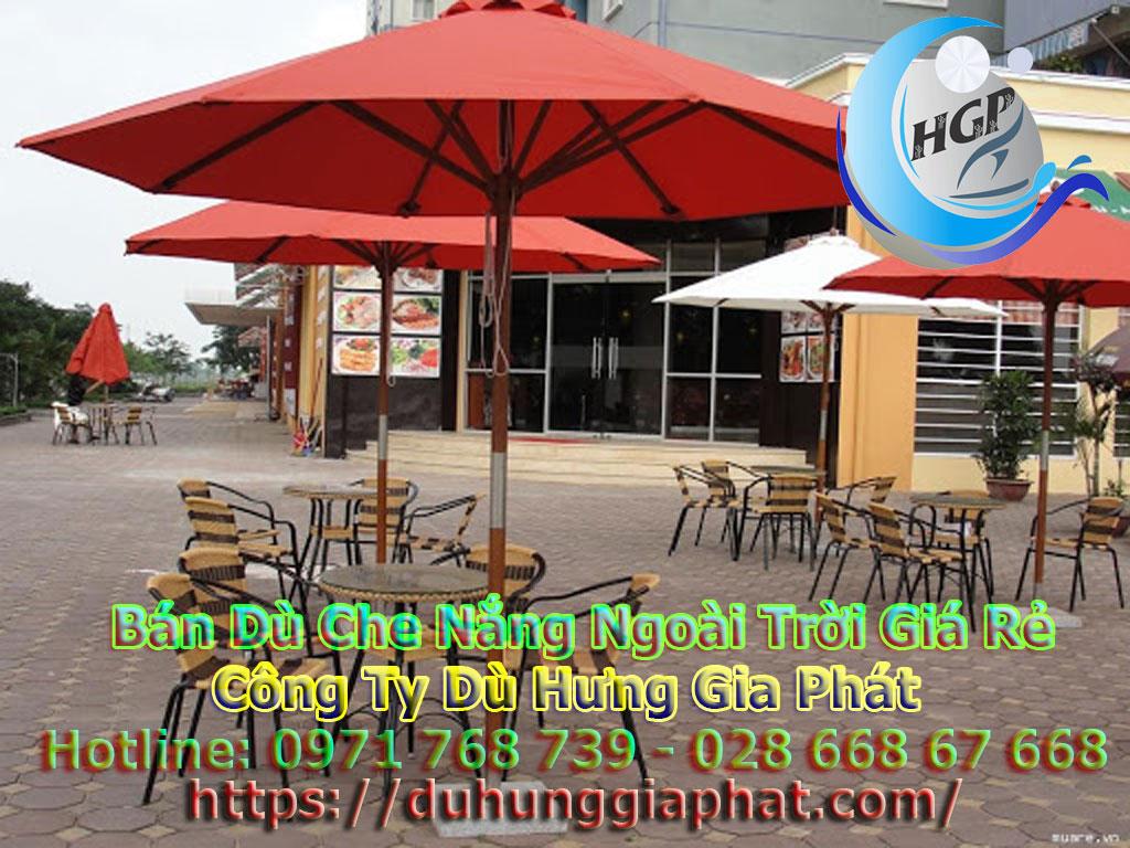 Mua Dù Che Nắng I Bảng Giá Ô Dù Che Nắng Quán Cafe I Dù Hưng Gia Phát