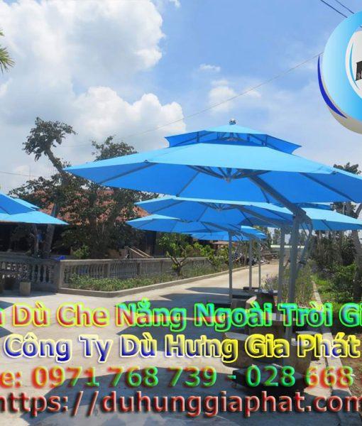 Bán Ô Dù Che Nắng Mưa Quán Cafe Sân Vườn, Mua Dù Cafe, Dù Lệch Tâm Tròn Vuông, Dù Đứng Tâm Giá Rẻ Tại TP.HCM