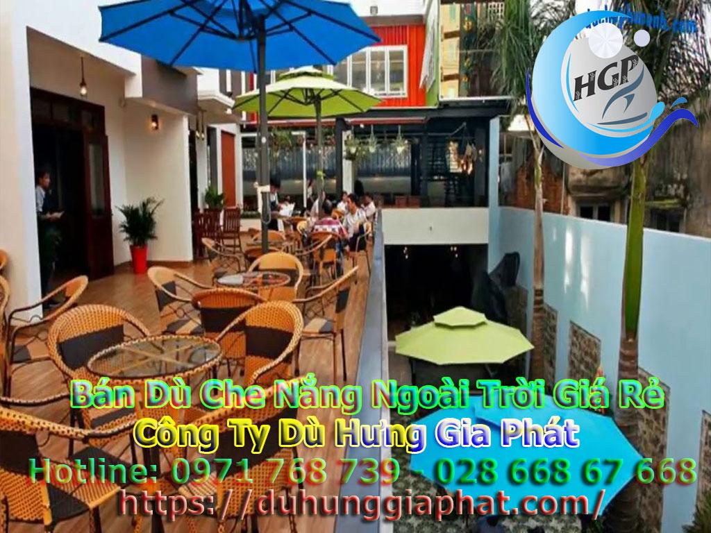 Địa Chỉ Bán Dù Che Nắng Ngoài Trời, Dù Lệch Tâm, Dù Đứng Tâm Quán Cafe Giá Rẻ Tại Đồng Nai